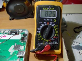 reading 825 Ohm value